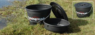 Fishing Mad   FISHINGMAD LARGE FISHING GROUNDBAIT MIXING BOWL AND 5