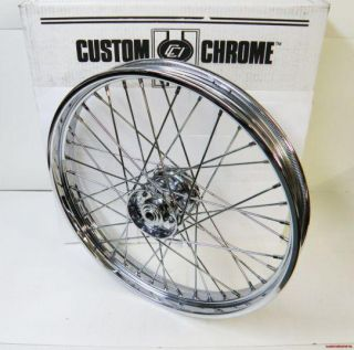21 x 2 15 40 Spoke Custom Chrome 36 66 Front Wheel Harley TIMKEN Style