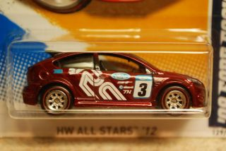 Hot Wheels 2012 Super Treasure Hunt Tampo Error 09 Ford Focus RS