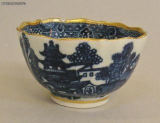 Caughley Pagoda Pattern Tea Bowl C1785