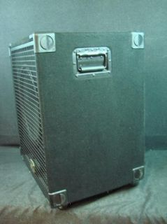 GK Gallien Krueger 15 Speaker Cabinet Black with Caster Wheels