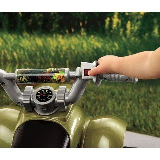Fisher Price Power Wheels Camo Lil Quad Little Quad 4 Wheeler Ride on