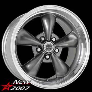 17x8 Anthracite Wheels Rims Torq Thrust M 5x4 75