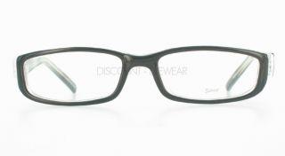 Soho 84 Stylish Modern Eyeglasses Frames Black Clear