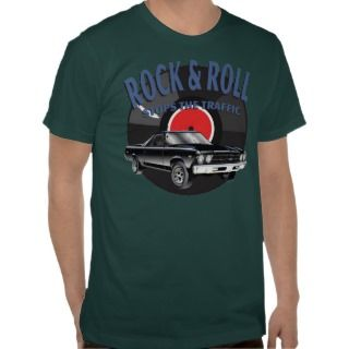 Rock & Roll Stops the Traffic III Tshirt
