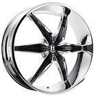 20 inch Helo HE866 Chrome Wheels Rims 5x4 5 5x114 3 35