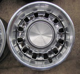 72 Ford Mustang Chrome Styled Wheels Torino 14 FoMoCo Original