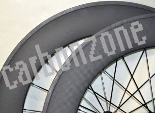 Wheels 700c Carbon Wheelset for Road TT Model Bicycle Wheels