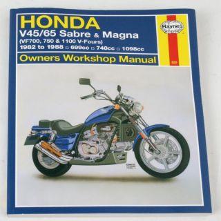 82 83 VF750C V45 Magna Honda Haynes Motorcycle Repair Manual