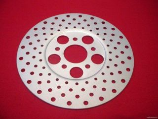 Drilled Front Rear 10 Disc Brake Rotor for Harley FLH FX 72 84