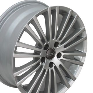 18 Silver VW Wheels Set of 4 Rims Fit Volkswagen Passat Beetle Jetta