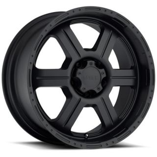 17x8 5 Matte Black Wheel V Tec Off Road 326 rwd 5x5 5
