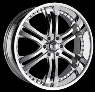 20x8 5 Chrome Veloche Vortex Wheels 5x135 18 Ford F 150 Expedition