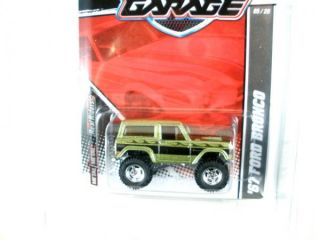 2011  Hot Wheels Garage 67 Bronco from 30 Car Set Real Riders