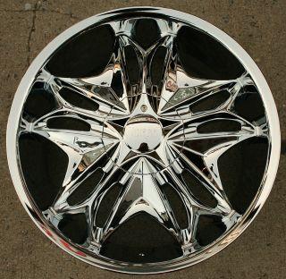 Viscera 728 20 Chrome Rims Wheels Lexus ES330 GS300 SC300 20 x 8 5