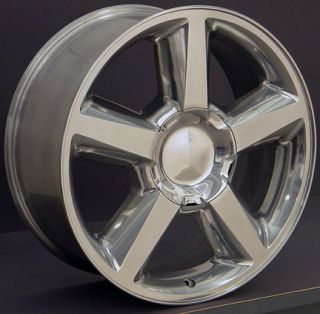 20 Polished Tahoe Wheels Tires Fit Chevrolet