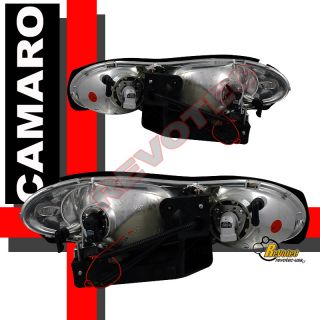 98 99 00 01 02 CHEVY CAMARO HEADLIGHTS HALO & BUMPER LIGHTS & LED TAIL