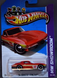 Hot Wheels 2013 Release 64 Corvette Sting Ray