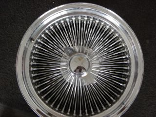 ) 18 100 Spoke Wire Rims: Set of four 18 x 8 standard chrome rims