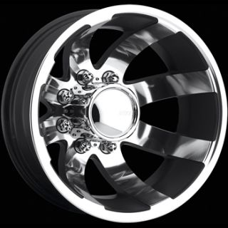 17x6.5 Chrome American Eagle 98 Dually Rear Wheels 8x170  134 FORD F
