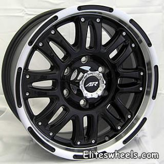 22x9 5 Black Assault Wheels Rims 6x5 5 Silverado Chev