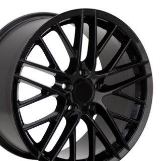 19 Corvette C6 ZR1 Black Wheel Rim Fit Chevrolet