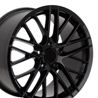 19 Corvette C6 ZR1 Black Wheel Rim Fit Chevrolet