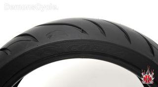 New Rear 180 55 R17 AV72 Tire Avon Cobra Rear Tires Wheel Fits Harley
