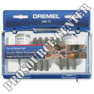 Dremel 688 01 Cut Off Wheel Rotary Tool Accessory Set with 70 Pieces