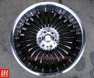 x9 5 Rims Verde V48 Black Machine Lip Ford Lincoln SUV Wheels