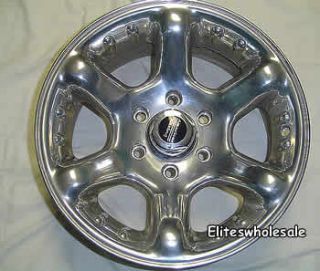 16x8 Polished American Racing Atlas Wheels 5x5 5 0 Suzuki XL 7 Vitara
