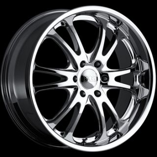 20x8 5 Chrome Boss 313 Wheels 6x5 5 14 GMC C 2500 Pickup 6LUG K 1500