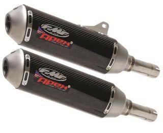 FMF Racing Apex Dual Slip on Exhaust Carbon TI Harley Davidson XR1200