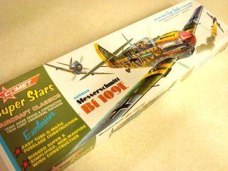 Comet Messerschmitt BF 109E Balsa Model Airplane Kit