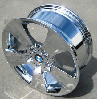 YOUR STOCK NEW 18 FACTORY BMW X3 X5 OEM CHROME WHEELS RIMS STYLE #113