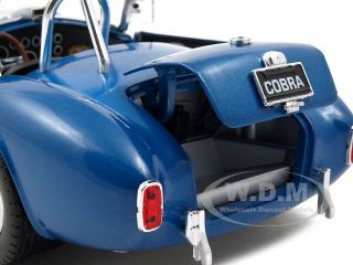 Brand new 1:18 scale diecast model of 1966 Shelby Cobra Super Snake