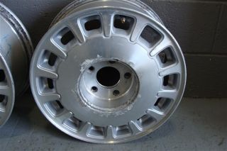 96 99 Cadillac DeVille 16 Factory Alloy Wheels Set of 4