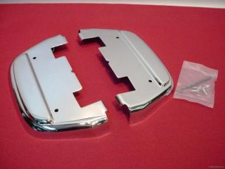 Footboard Under Covers for Harley Touring Softail 87 Present
