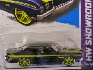 Hot Wheels 2012 #108 70 BUICK GSX Blue from KMart Collector Day Nov