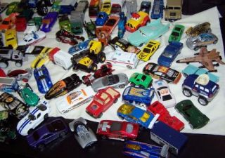 Matchbox Hot Wheels Tonka Cars Trucks Boats Airplanes Lot 125 Vintage