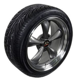 Anthracite Wheels SET of 4 Rims ZR Tires Fits Mustang® GT 94   04