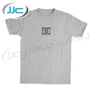 DC Shoes Solo Star Slim Fit T Shirt Grey Size XL