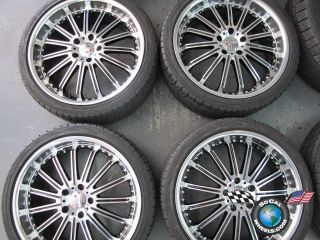 12 Cadillac CTS 3 Series BMW 20 MKW Wheels Tires Rims 5x120 245/35/20