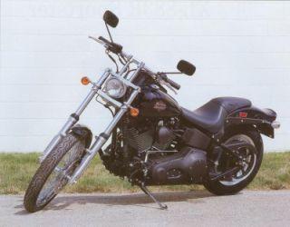 2002 Harley Davidson FXSTB Night Train 1 18 Scale Diecast Motorcycle