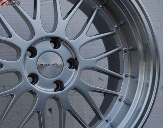 18x9 5 Varrstoen ES111 5x114 3 12 Silver Wheel Fit Lancer Volution EVO