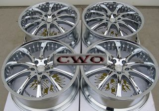 19 Chrome adr Revolver Wheels Rims 5x120 5 Lug BMW 5 6 7 8 Series S10