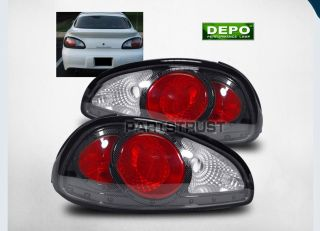97 03 Pontiac Grand Prix Carbon Fiber Tail Lights Rear Brake Lamp LH