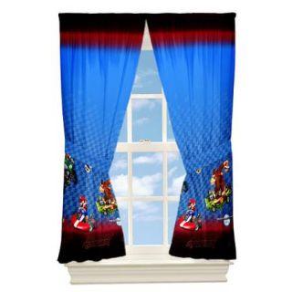 New Nintendo Super Mario MarioKart Curtains Drapes Panels Window