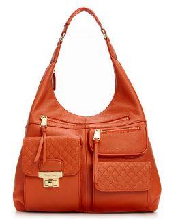 Calvin Klein Handbag, Bedford Leather Hobo   Handbags & Accessories