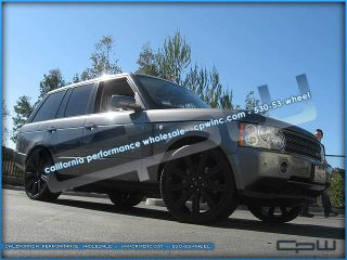 24 INCH WHEELS & TIRES PACKAGE RIMS RANGE ROVER SPORT LR3 LR4
